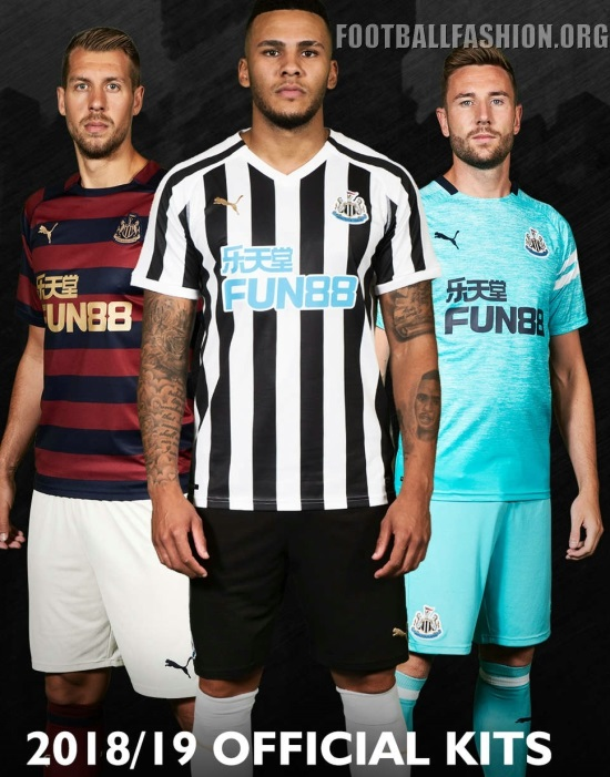 Newcastle United 2018 19 PUMA Third Kit - Football Fashion 1a14b9c660a62