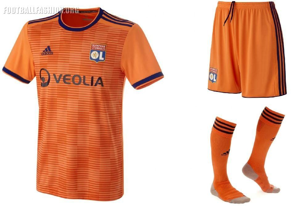 57e9052600 Olympique Lyonnais 2018 19 Kit - Dream League Soccer Kits - Kuchalana