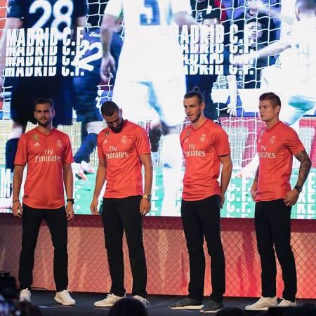 Real Madrid 2018 2019 adidas Third Football Kit, Soccer Jersey, Shirt, Camiseta, Camisa, Equipacion, Maillot, Trikot, Tenue, Camisola, Dres