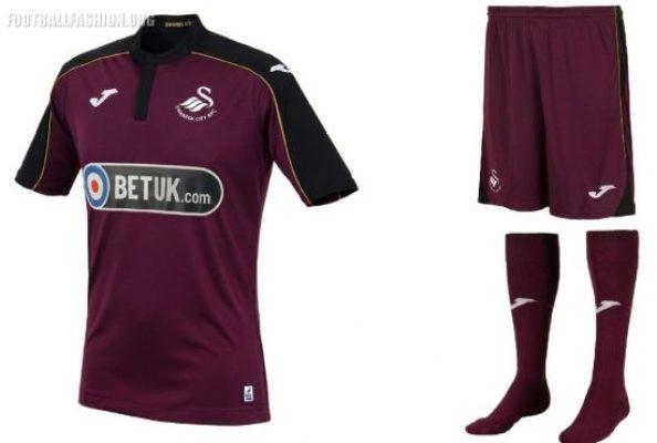 Swansea City 2018 2019 Joma Third Football Kit, Soccer Jersey, Shirt
