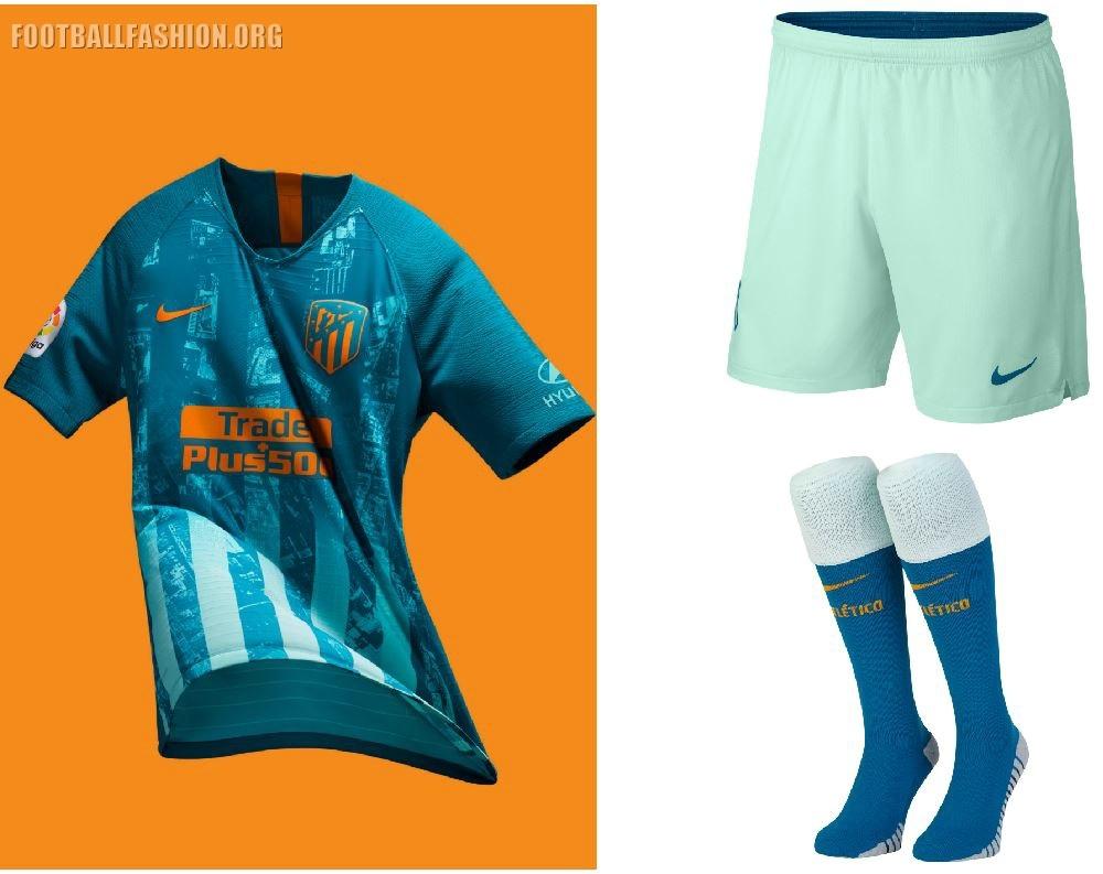 865b7b2082 Atlético de Madrid 2018 19 Nike Third Kit – FOOTBALL FASHION.ORG