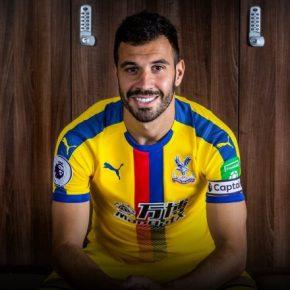 Crystal Palace FC 2018 2019 PUMA Third Football Kit, Soccer Jersey, Shirt, Maillot