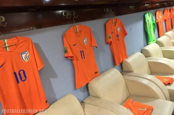 India 2018 2019 Nike Away Football Kit, Soccer Jersey, Shirt
