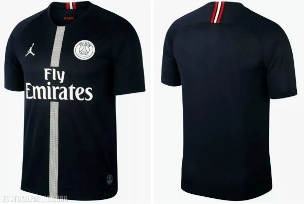Paris Saint-Germain 2018 2019 Jordan UEFA Champions League Football Kit, Soccer Jersey, Shirt, Maillot, Camiseta, Camisa, Trikot