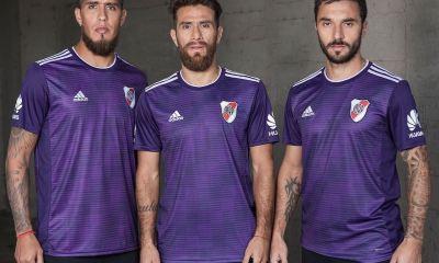 River Plate 2018 2019 adidas Away Football Kit, Soccer Jersey, Shirt, Camiseta Alternativa, Equipacion