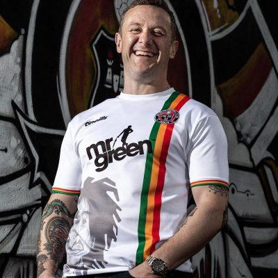 Bohemians FC x Bob Marley 2019 Away O'Neills Football Kit, Soccer Jersey, Shirt