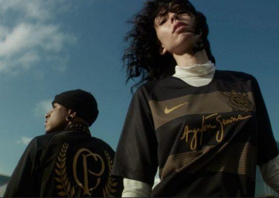 Corinthians 2018 2019 Ayrton Senna Nike Third Football Kit, Soccer Jersey, Shirt, Camisa III, Camisa