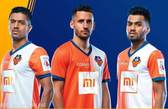 FC Goa 2018 2019 Home and Away Football Kit, Soccer Jersey, Shirt