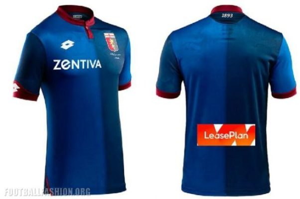 Genoa CFC 2018 2019 Lotto Away and Third Football Kit, Soccer Jersey, Shirt, Maglia, Gara