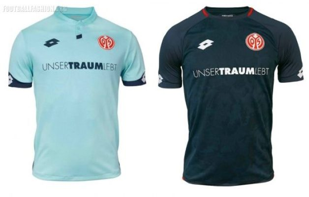 Mainz 05 2018 2019 Lotto Home, Away and Third Football Kit, Soccer Jersey, Shirt, Trikot