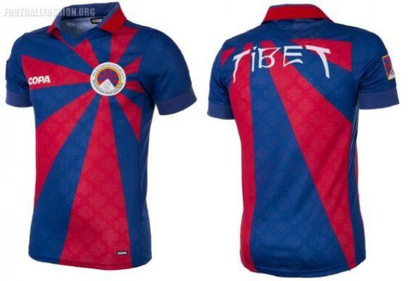 Tibet 2018 2019 COPA Home and Away Football Kit, Soccer Jersey, Shirt