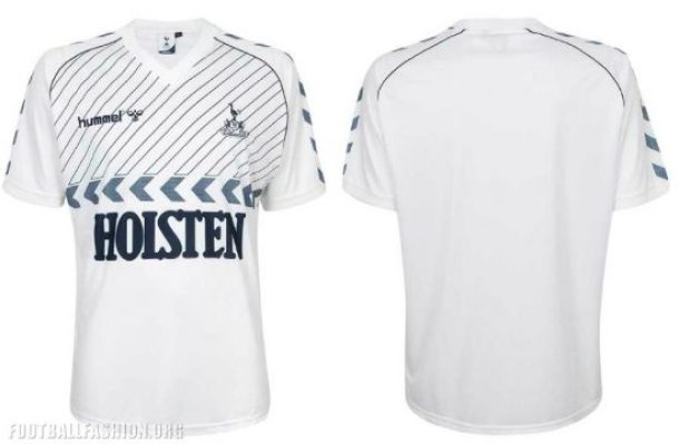 Tottenham Hotspur Reissue Late 1980s hummel Football Kit, Soccer Jersey, Shirt