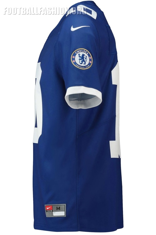 cfbda8004 Chelsea FC 2018 19 Nike NFL Jersey - FOOTBALL FASHION.ORG