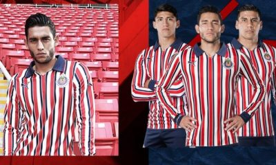 Chivas 2018 FIFA Club World Cup PUMA Soccer Jersey, Football Shirt, Kit, Camiseta Mundial de Clubes