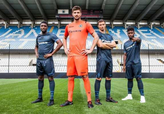 Club Brugge 2018 2019 Macron Football Shirt, Soccer Jersey, Kit, Tenue, Maillot