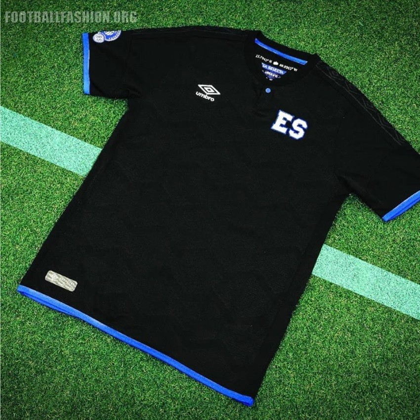d73e009a8054 El Salvador 2018 19 Umbro Third Jersey - FOOTBALL FASHION.ORG