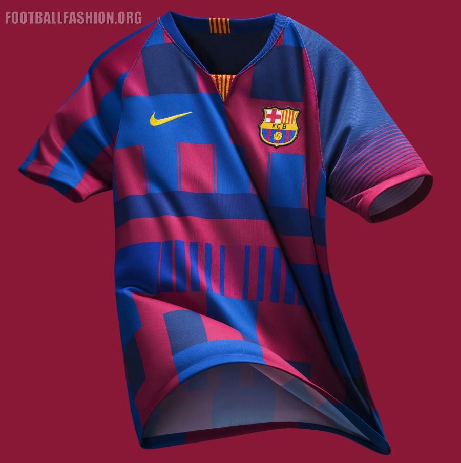"31cd2ebb7b FC Barcelona x Nike 20th Anniversary Football Kit, Soccer Jersey, Shirt, Camiseta  de. """