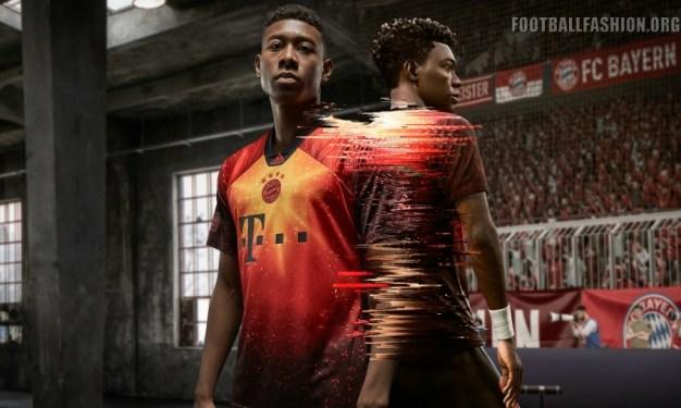 Bayern Munich 2018 2019 adidas EA Sports Fourth FIFA 19 Football Kit, Soccer Jersey, Shirt, Trikot, Maillot, Tenue, Camisa, Camiseta
