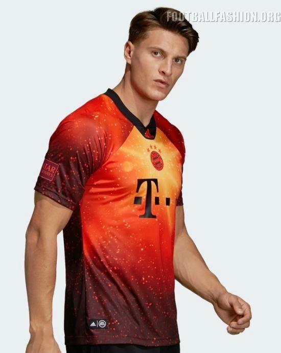 5852db5aa Bayern München 2018 19 adidas x EA Sports Fourth Kit – FOOTBALL ...