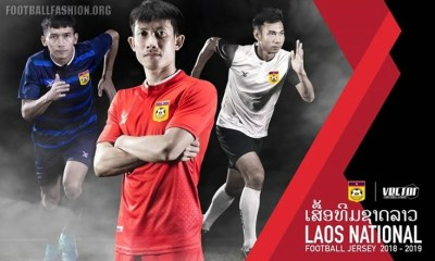 Laos 2018 2019 FBT Home, Away and Third Football Kit, Soccer Jersey, Shirt