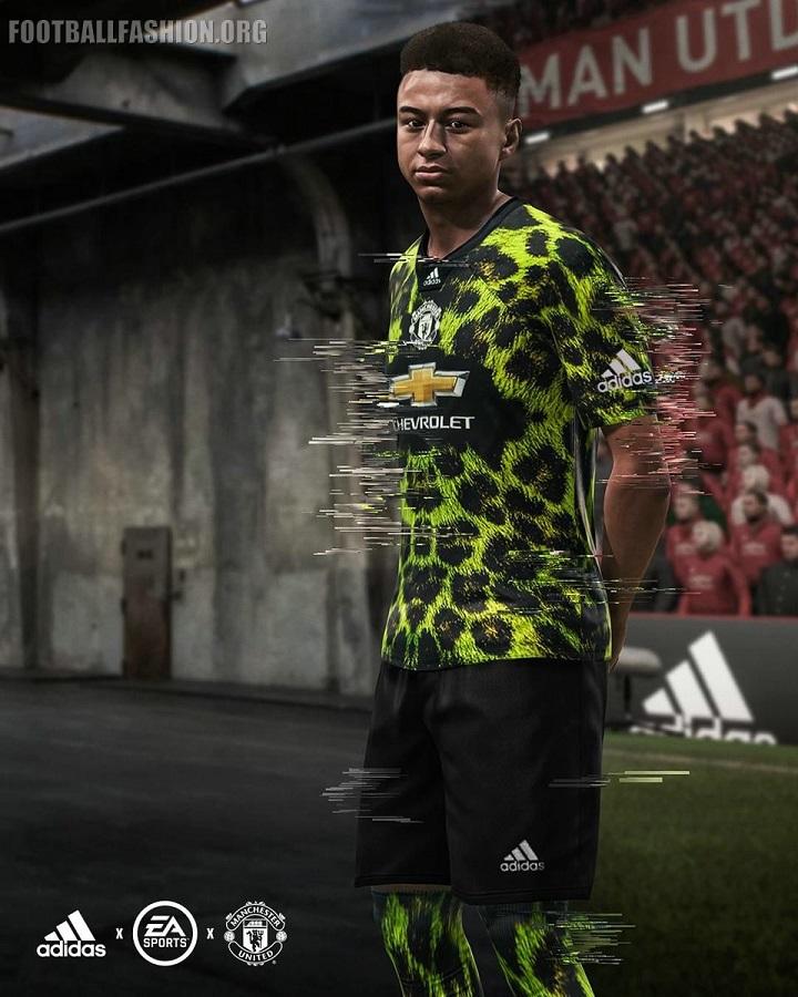 pretty nice b4b04 aec92 Manchester United 2018/19 adidas Digital Fourth Kit ...