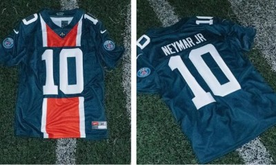 Paris Saint-Germain 2018 2019 Nike NFL Football Jersey, Kit, Soccer Shirt, Maillot