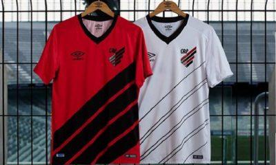 Athletico Paranaense 2019 Umbro Home and Away Football Kit, Shirt, Soccer Jersey, Camisa