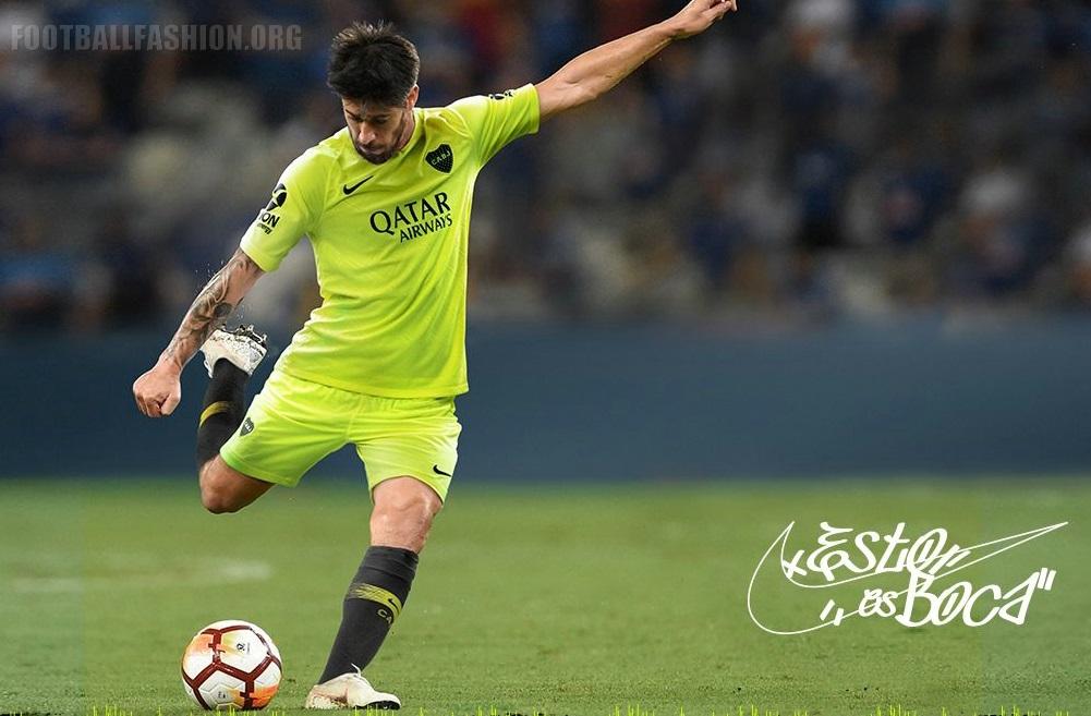 Boca Juniors 2019 Nike Third Kit – FOOTBALL FASHION.ORG 3cff20e11219b