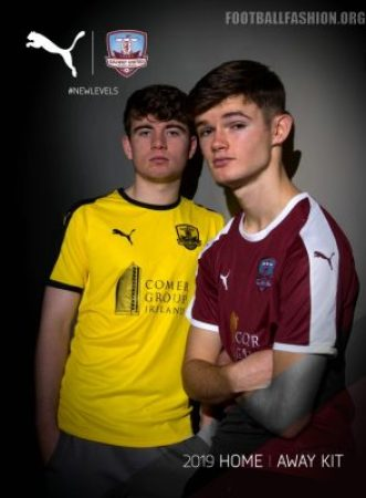 Galway United FC 2019 PUMA Home and Away Football Kit, Soccer Jersey, Shirt