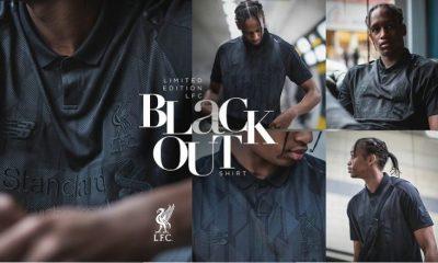 Liverpool FC 2018 2019 White New Balance Black Football Kit, Soccer Jersey, Shirt, Camiseta, Camisa, Maillot, Trikot
