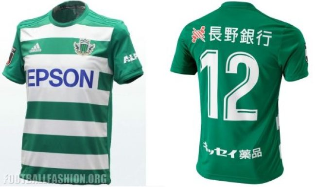 Matsumoto Yamaga 2019 adidas Home and Away Football Kit, Soccer Jersey, Shirt