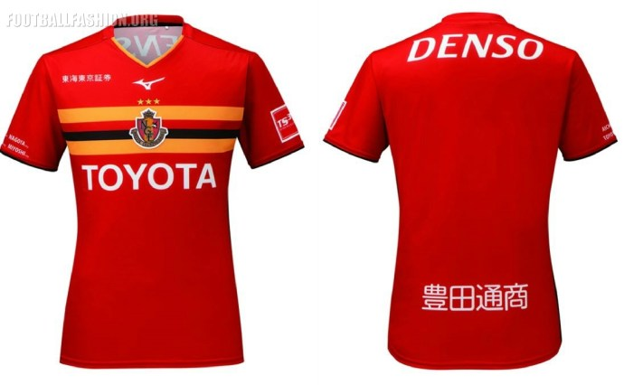 Nagoya Grampus 2019 Mizuno Home Football Kit, Soccer Jersey, Shirt