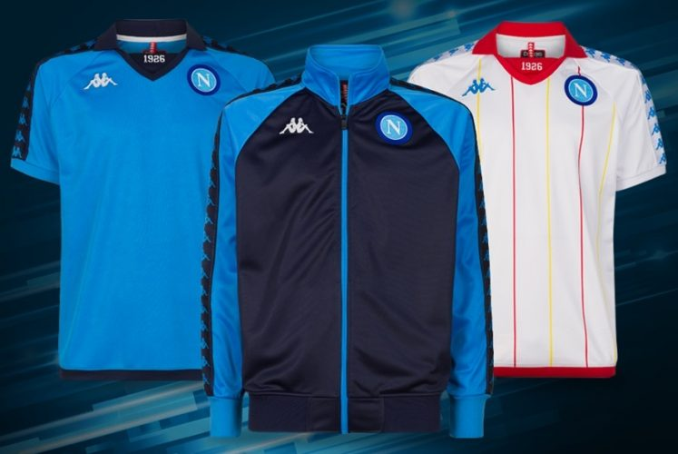 SSC Napoli 2018 19 Kappa Retro Kits – FOOTBALL FASHION.ORG c54af0f7a