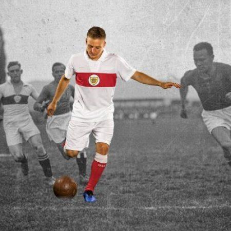 VfB Stuttgart 125th Anniversary PUMA Home Football Kit, Soccer Jersey, Shirt, Trikot, Ur-Trikot 125 Jahre