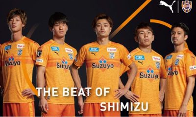 Shimizu S-Pulse 2019 PUMA Home and Away Football Kit, Soccer Jersey, Shirt