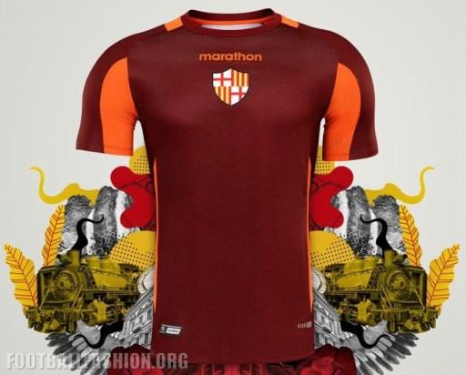 Barcelona SC 2019 Marathon Football Kit, Soccer Jersey, Shirt, Camiseta de Futbol
