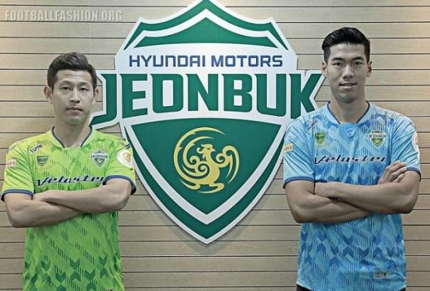 Jeonbuk Hyundai Motors FC 2019 hummel Home Football Kit, Soccer Jersey, Shirt