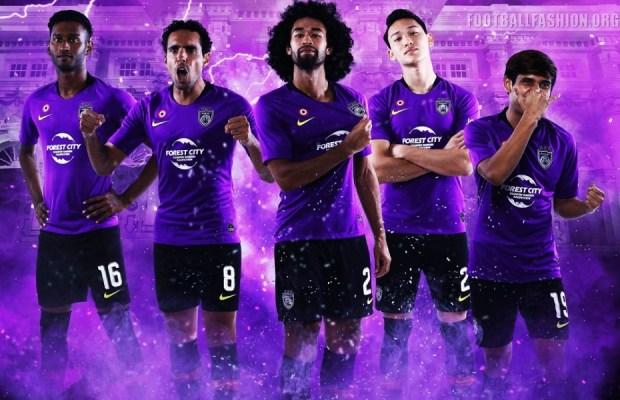Johor Darul Ta'zim 2019 Nike Football Kit, Soccer Jersey, Shirt