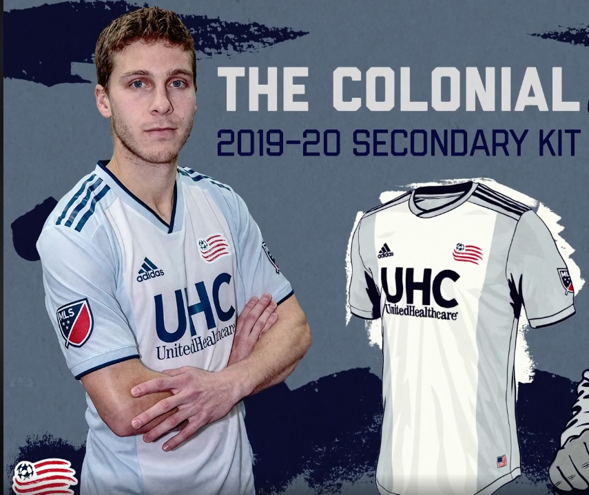 535006fc001 New England Revolution 2019 adidas Away Jersey - FOOTBALL FASHION.ORG