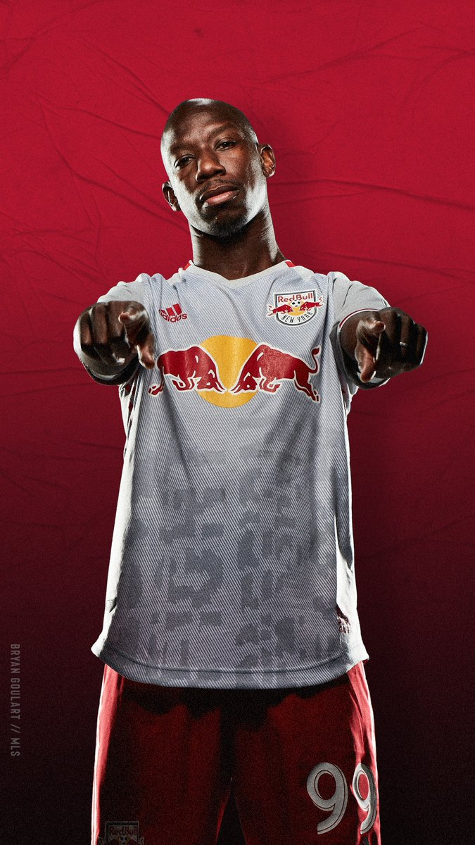 sports shoes e364b aaa55 New York Red Bulls 2019 adidas Home Jersey - FOOTBALL ...