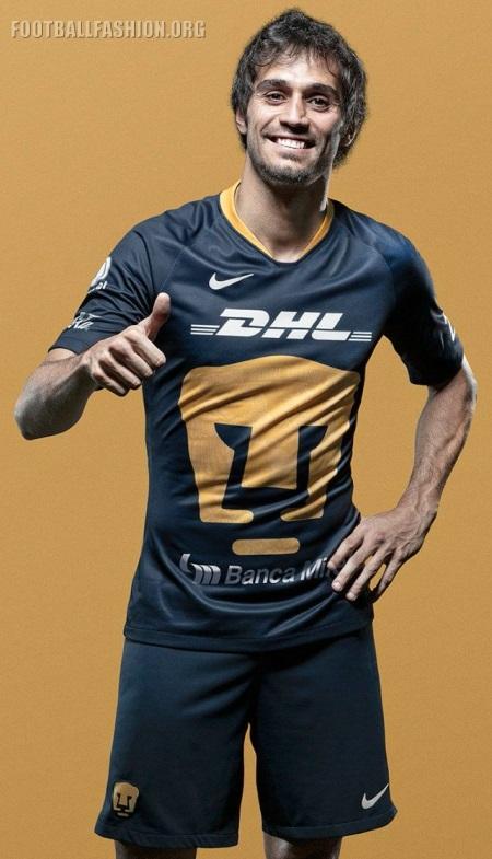 timeless design fd427 24b54 Pumas de la UNAM 2019 Nike Third Jersey - FOOTBALL FASHION.ORG