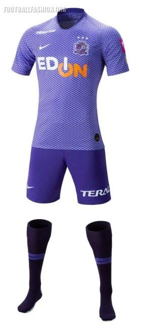 Sanfrecce Hiroshima 2019 Nike Home and Away Football Kit, Soccer Jersey, Shirt