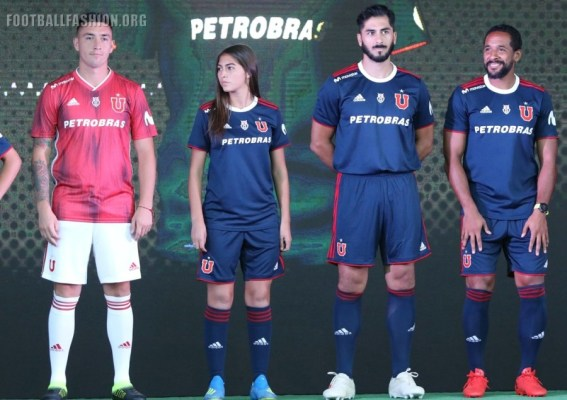 Club Universidad de Chile adidas 2019 Football Kit, Soccer Jersey, Shirt, Camiseta de Futbol