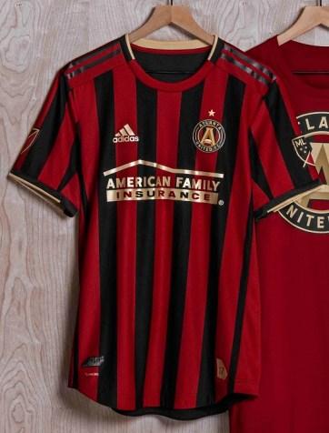new style d8138 670be Atlanta United 2019 adidas Home Jersey - Football Fashion