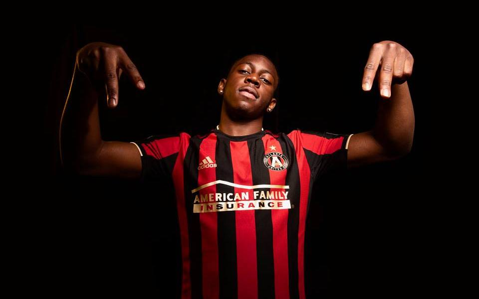396cabdc928 Atlanta United Release 2019 Home Jersey