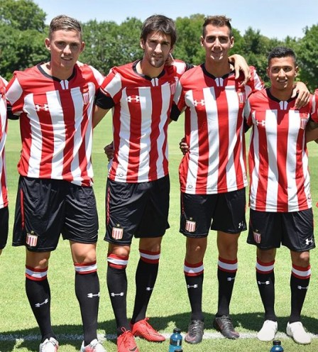Estudiantes de La Plata 2019 Under Armour Home Football Kit, Soccer Jersey, Shirt, Camiseta de Futbol