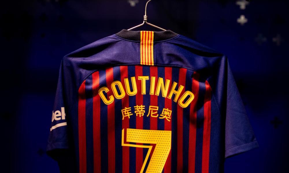 FC Barcelona 2019 Chinese New Year Nike Home Football Kit, Soccer Jersey, Shirt, Camiseta de Futbol, Camisa