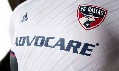 FC Dallas 2019 adidas White Away Soccer Jersey, Shirt, Football Kit, Camiseta de Futbol MLS