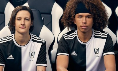 Fulham FC 140th Anniversary adidas Football Kit, Soccer Jersey, Shirt