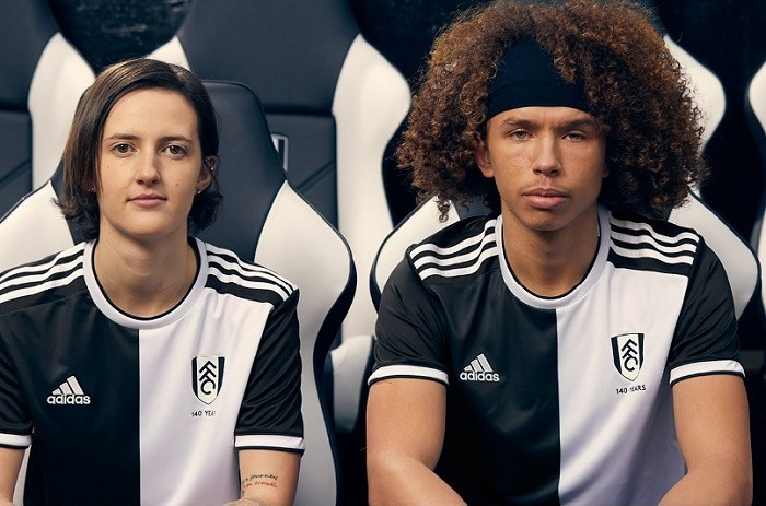 Fulham FC 140th Anniversary adidas Football Kit, Soccer Jersey, Shirt
